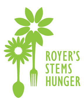 Royers Stems Hunger logo